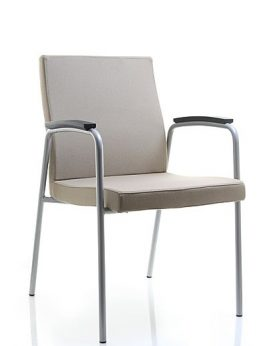 Vector 4 Legged Meeting Chair