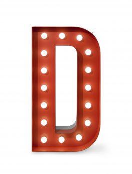 Letter, Number or Symbol Lamps