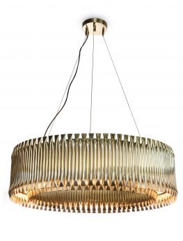 MATHENY Round Suspension Lamp