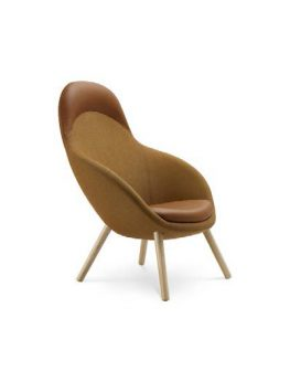 Vieni 743 Chair Brown